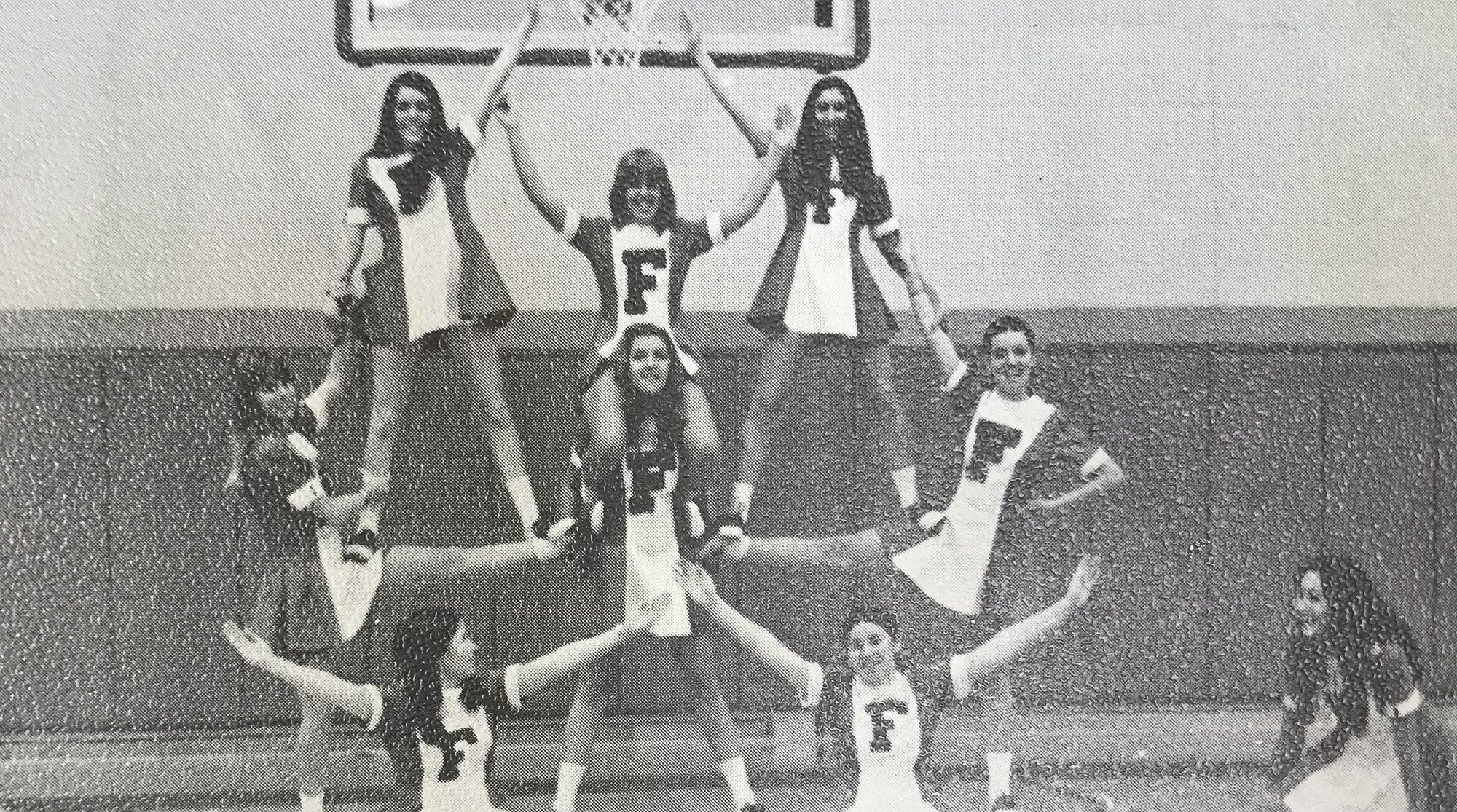a7a3d7891 St. Francis Alumna Diane Trapp '75 Reflects on Inaugural Cheerleading Squad